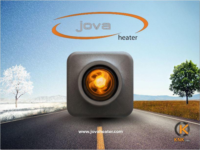Karavan'da ısıtıcı Jova Heater Yerli Üretim