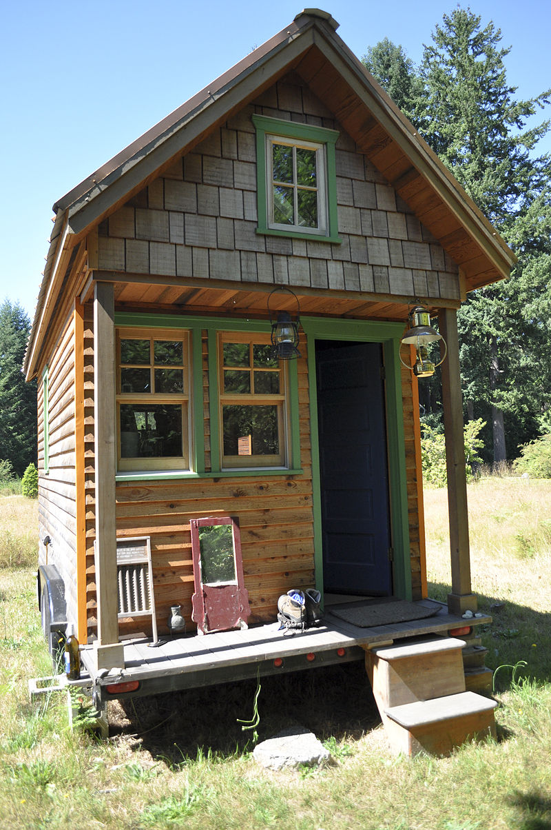 Tiny House Minimal Evler